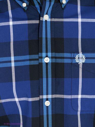 Bleu Medival Fred 126 Pour Grands M3265 Longues Chemise Perry Carreaux À Hommes Manches n7qppvP0xw