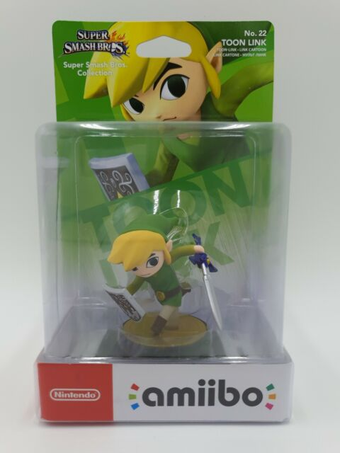 Nintendo Amiibo - Toon Link No.22 - Super Smash Bros Series