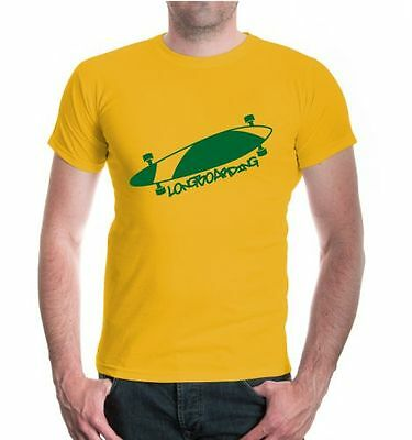 Systematisch Herren Unisex Kurzarm T-shirt Longboarding Funsport Skateboard Skaten Produkte Werden Ohne EinschräNkungen Verkauft