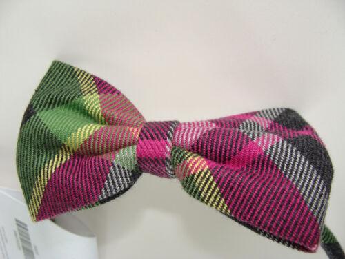 Gymboree Merry Bright Girls Hair Bow Headband NEW Plaid