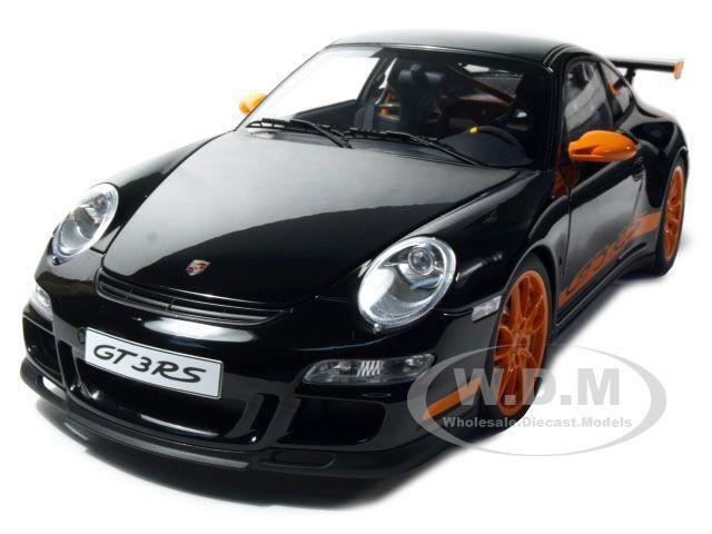 40% de descuento Porsche 911 (997) GT3 RS Negro 1 12 Diecast Modelo Modelo Modelo Coche por Autoart 12116  mejor moda