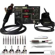 GQ  Brand USA SMD Rework  station hot air  soldering Iron full pack