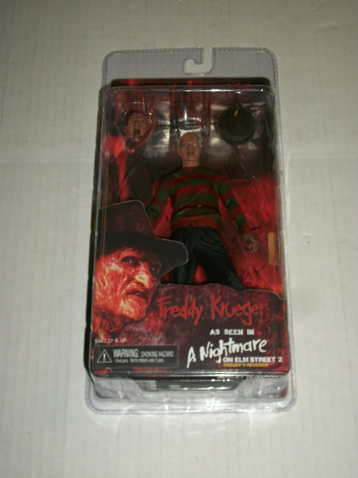 NECA A Nightmare on Elm Street 2 FROTDY KRUEGER Action Figure