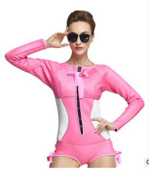 SBART Neoprene Scuba Wetsuit 2MM One Piece  Swimsuit Rashguard Women Diving Suit  for sale