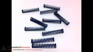 RAYMOND 103107 - PACK OF 10 - DIE BLUE SPRING , MEDIUM DUTY 3/8X1-3/4, NEW*