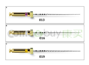 Endodontic-Niti-Rotary-Pathfile-Endo-Files-25mm-ISO-13-16-19-Root-Canal-Dental