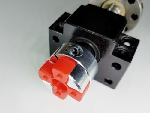 14 mm x 15 mm Flexible Jaw Spider Shaft Coupling CNC Stepper Motor Coupler Rare