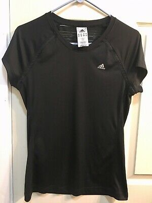 BNWT ADIDAS CLIMACOOL LADIES SHORT SLEEVED FITNESS GYM RUNNING T SHIRT TOP