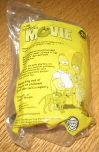2007 The Simpsons Movie Burger King Kids Meal Toy Mr Montgomery Burns Ebay