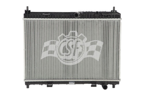 Radiator-1 Row Plastic Tank Aluminum Core CSF 3509 fits 11-18 Ford Fiesta