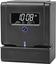 Lathem Thermal Print Time Clock System Black 2100hd