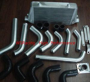 Details about Front mount intercooler kit for Toyota Landcruiser 80 series  1HDT HDJ 12V engine