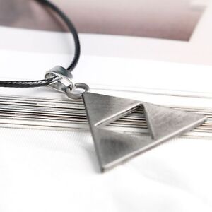 The Legend of Zelda Triforce Cosplay Alloy Necklace Unisex Chain Pendant