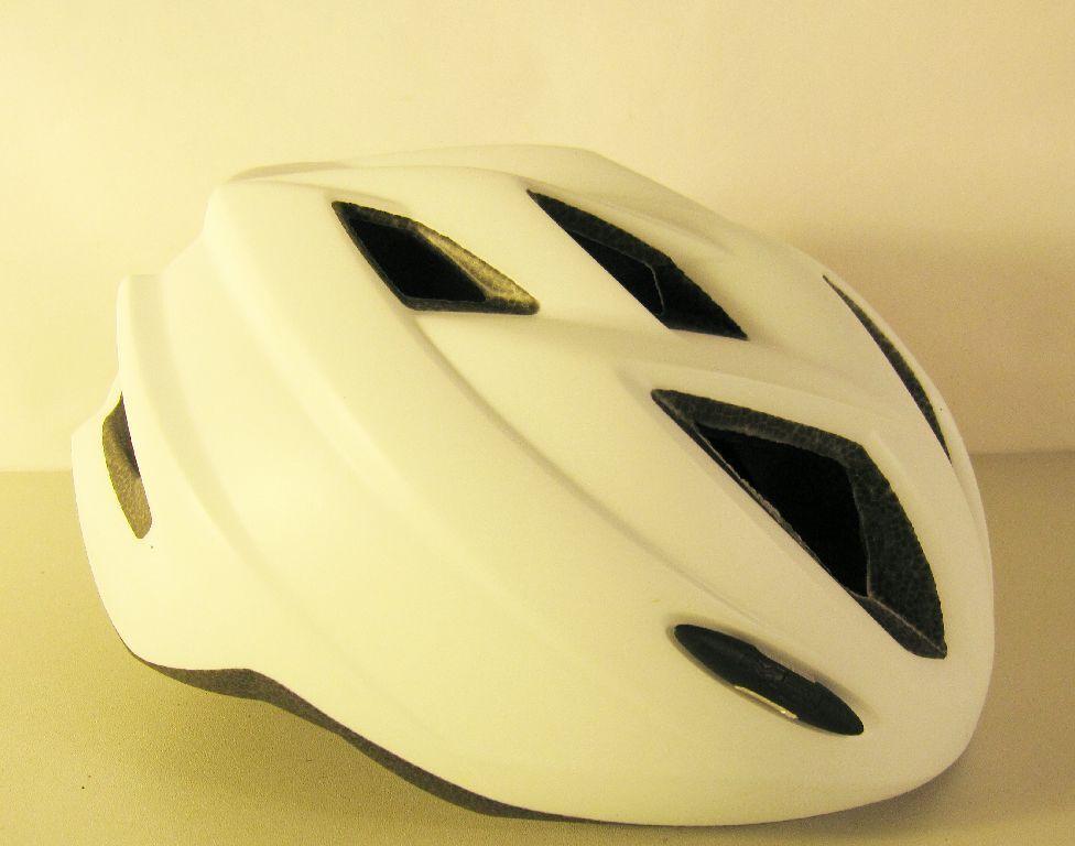 MET 3HELM94UNBX    Fahrradhelm matt weiß, 52-57cm, Skate inliner Rad Helm K10 97bd56
