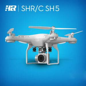 Wide-Angle-Lens-HD-Camera-Quadcopter-RC-Drone-WiFi-FPV-Helicopter-Hover-White