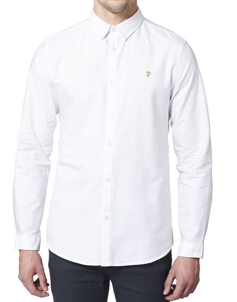 Farah Brewer Camicia in Bianco