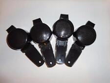 Tupperware 4 Mini Strainers Sifter Tea Craft Gadgets Black Kitchen Tools New