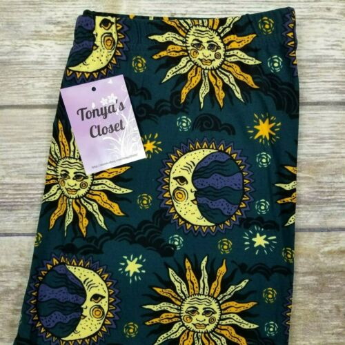 Sun and Moon Leggings Buttery Soft ONE SIZE OS