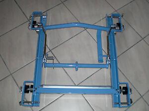 Bauaufzug-GEDA-Standardschlitten