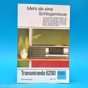 Transmiranda-6200-Volltransistor-1971-Prospekt-Werbung-DEWAG-Werbeblatt-R51