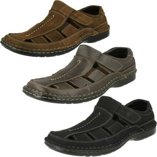 Mens Padders Closed Closed Closed Toe Leather Sandals Breaker 19522c