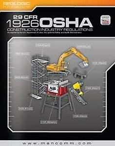 Details about 29 Cfr 1926 Osha Construction Industry Regulations &  Standards - by Mancomm