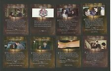 Bella's Ring Vampire Bite Kristen Stewart Robert Pattinson Twilight Fab Card LOT