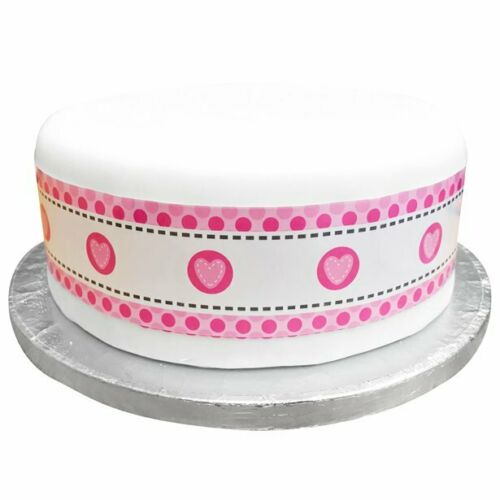 "Cake RIbbon Fits Round A  11/"" Round Cake Or A 8/"" Square Cake"