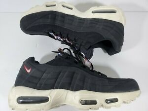 save off save off purchase cheap Details about Size 10 Nike Air Max 95 TT Pull Tab Pack Black Gym Red Sail  3M White AJ1844-002
