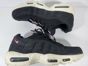ef98178f50 Size 10 Nike Air Max 95 TT Pull Tab Pack Black Gym Red Sail 3M White ...