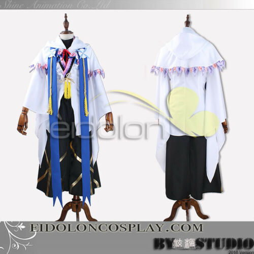 EE0038BP Fate//Grand Order Merlin Cosplay Costume with Cath Palug