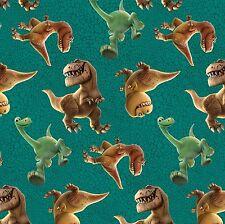 Fat Quarter Disney The Good Dinosaur Skin Toss 100% Cotton Quilting Fabric