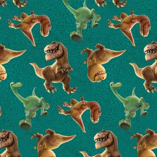 Fat trimestre disney la bonne Dinosaure peau Toss 100/% coton tissu de matelassage