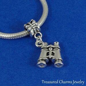 Silver SHARK TOOTH Dangle Bead CHARM fits EUROPEAN Bracelet *NEW*