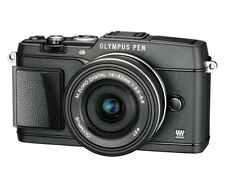 Olympus PEN E-P5 mit 14-42 EZ  Objektiv schwarz B-Ware EP5 Luxury Kit