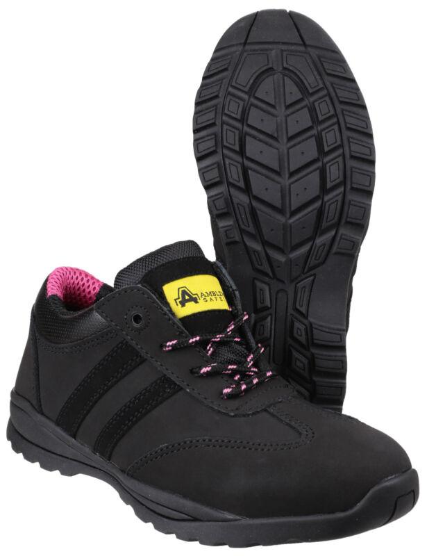 Amblers Fs706 Sophie Zapatillas De Protección Mujer Puntera Acero Zapatos Uk3-9
