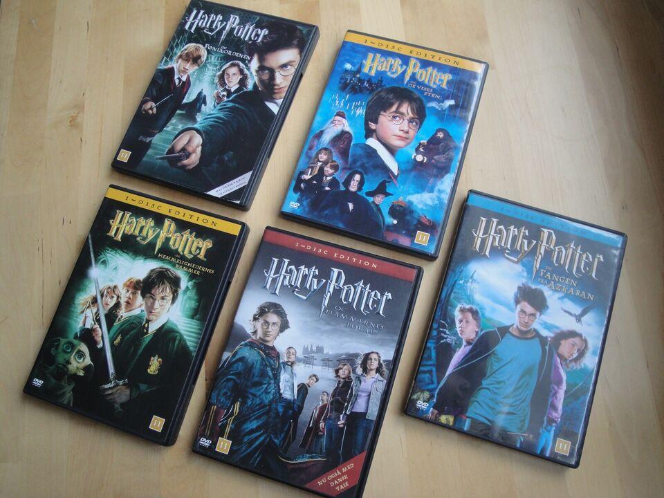 Harry Potter, DVD, eventyr