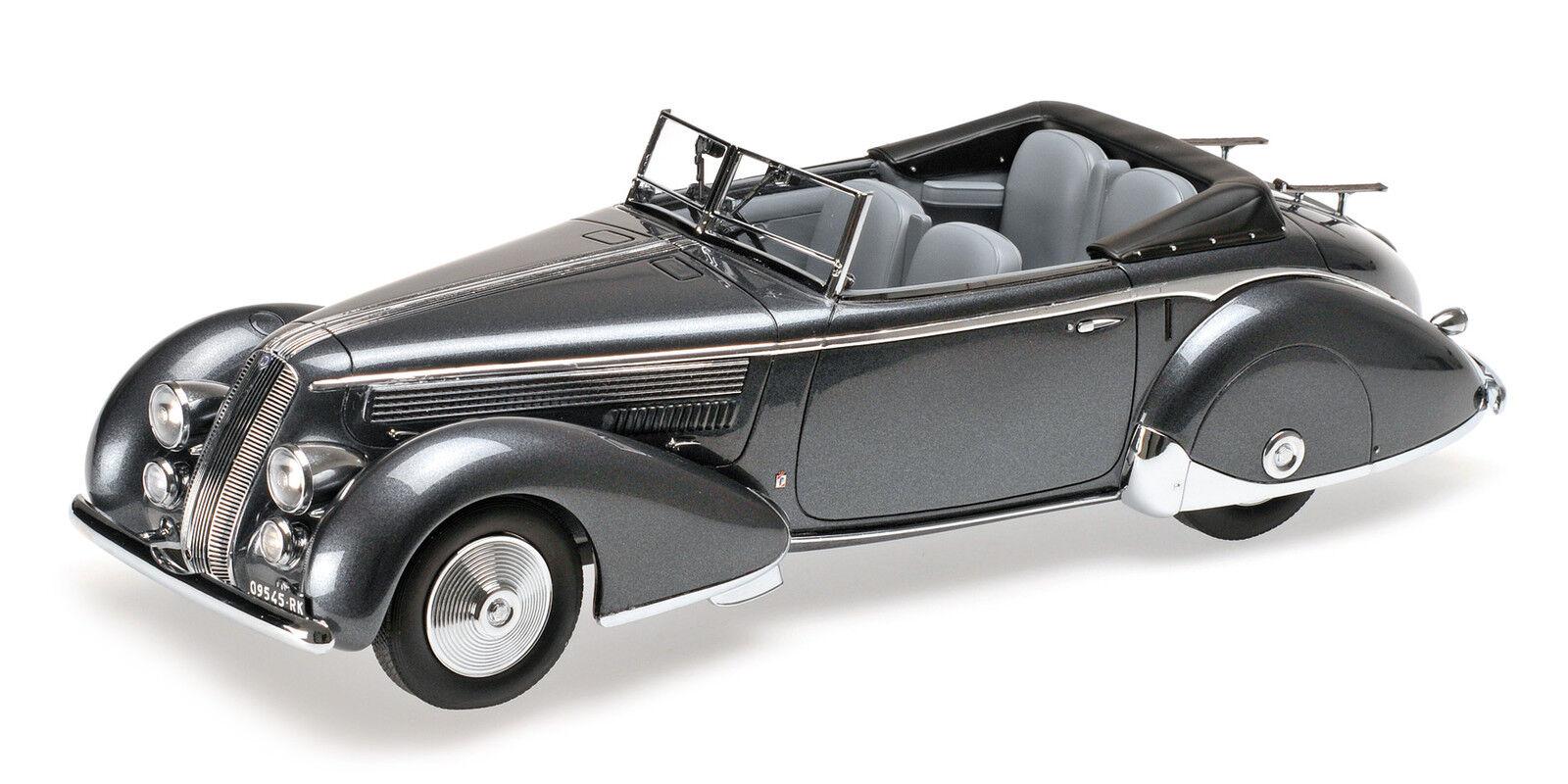 Lancia Astura Tipo 233 Corto 1936 Grey Metallic 1:18 1:18 1:18 Model MINICHAMPS | Qualité Fiable  | Sale  | De Gagner Une Grande Admiration Et Est Largement Confiance à La Maison Et à L'étranger  e3fddf