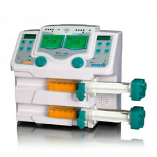 Medical Double 2 Channel Syringe Pump With Lcd Display And Visual Alarm Byz 810t