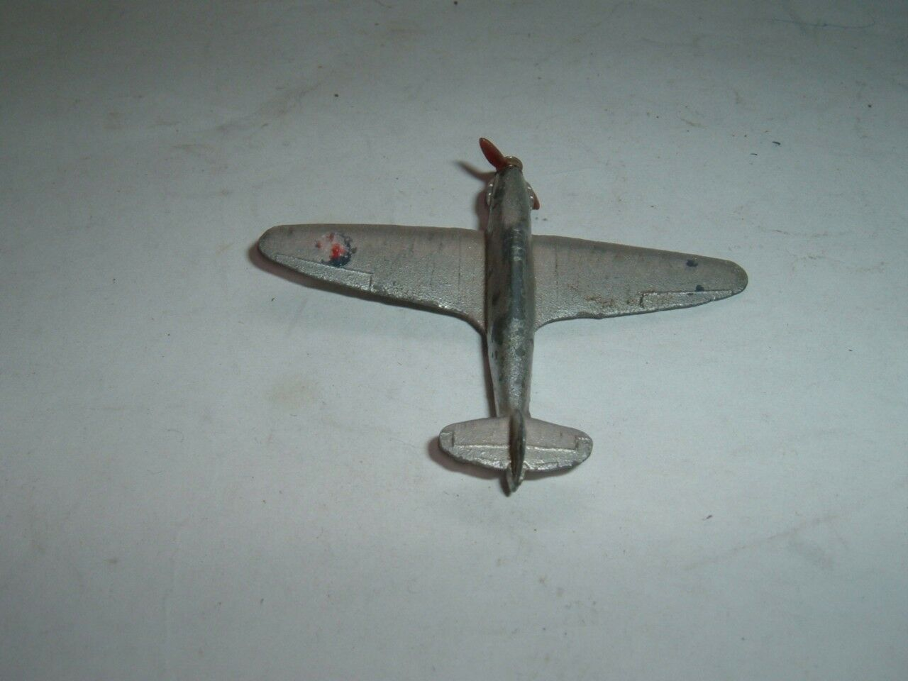 DINKY TOYS 62S HAWKER HURRICANE EARLY VINTAGE IN USED CONDITION SEE THE  PHOTOS