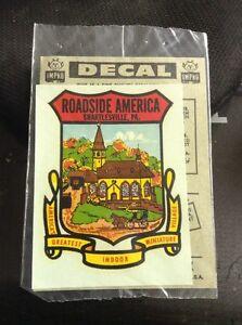Vintage Impko Water Decal Roadside America Shartlesville PA