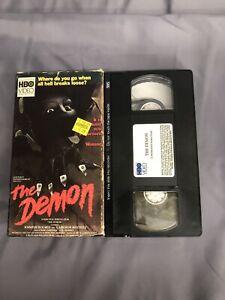 THE DEMON VHS HORROR RARE HBO VIDEO | eBay