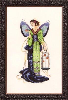 Biancabella Mirabilia Designs//Nora Corbett chose chart//embellishments