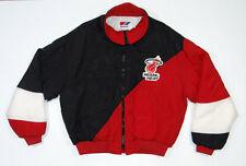 Vtg 80s 90s MIAMI HEAT Swingster Jacket Throwback Chalkline Starter Basketball