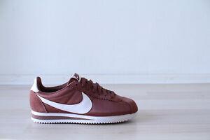 noche Casa de la carretera caricia  Nike Classic cortez nylon wmns marrón blanco talla 37,38,39 nuevo & OVP  749864 203 | eBay