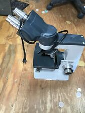 American Optical One Ten 1130 Microscope Comes With 3 Objectives
