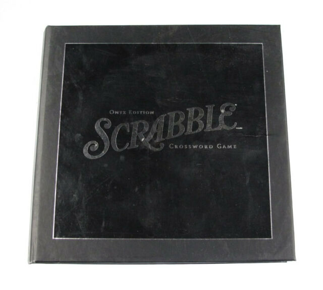 Scrabble Onyx Edition Crossword Game Official Score Sheet Booklet ...