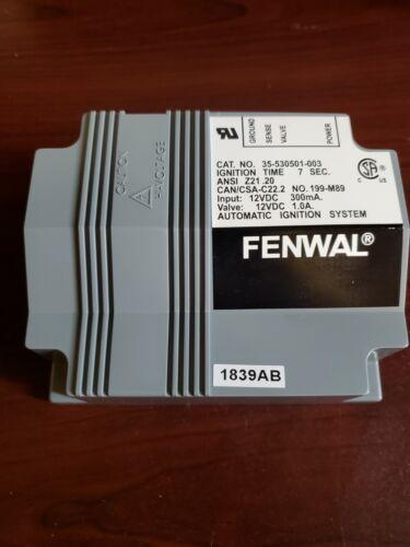 FENWAL 12VDC ECM BRAND NEW FREE SHIPPING 35-530501-003