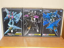 Transformers Takara Masterpiece MP-7 Thundercracker MP-6 Skywarp MP-3 Starscream