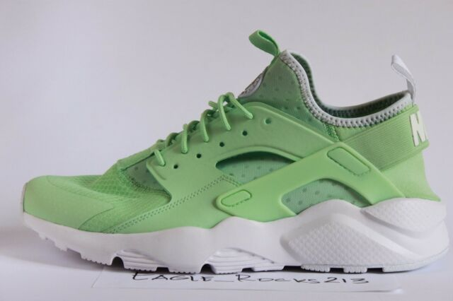 New Nike Air Huarache Run Ultra Sz 10.5 Fresh Mint Green Running Shoes 819685